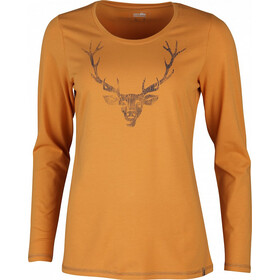 High Colorado Wallis 4 T-shirt à manches longues Femme, turmeric